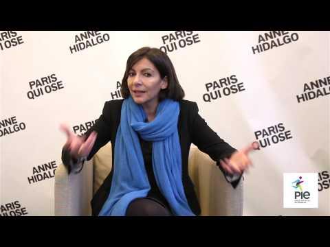 Innovation à Paris : Anne Hidalgo répond aux entrepreneurs soutenus par PIE