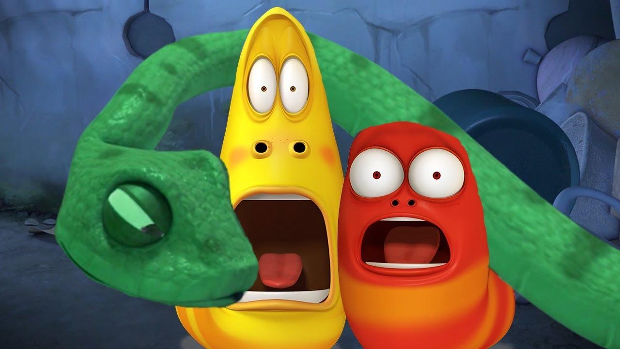 Download LARVA - SLITHERY SNAKE | Cartoon Movie | Cartoons For Children | Larva Cartoon | LARVA Official