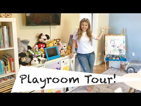 Playroom Makeover and Tour
