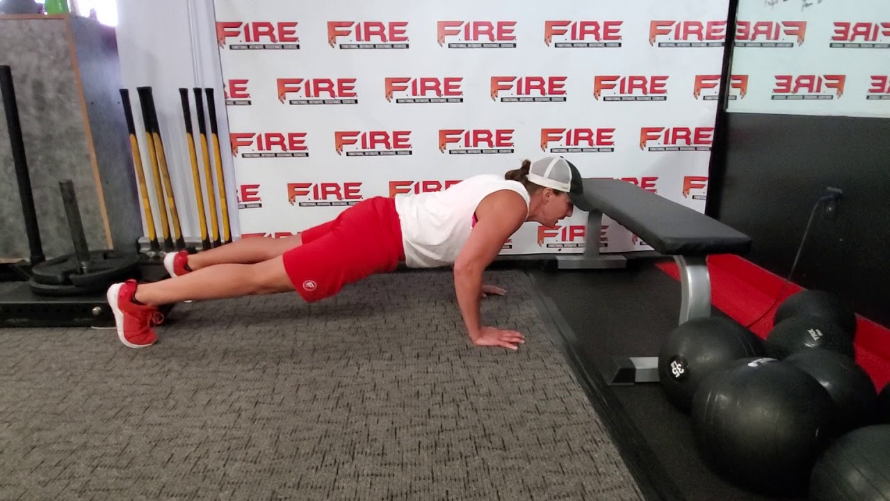Stop Doing Push Ups From Your Knees!!