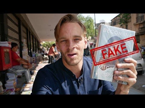 Shopping For Counterfeit Books In India, BEST PRICE? #BlackMarketTour