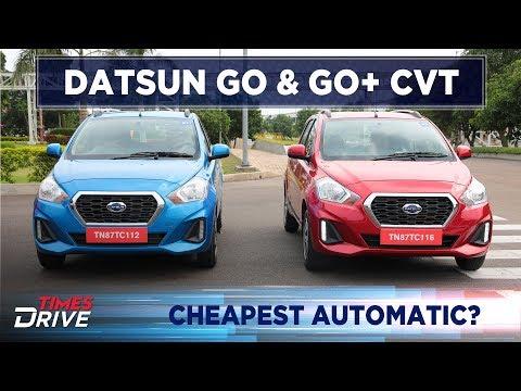 Datsun Go & Go Plus CVT | First Drive Review | Times Drive