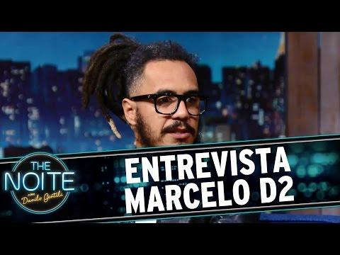 The Noite (08/03/16) - Entrevista com Marcelo D2
