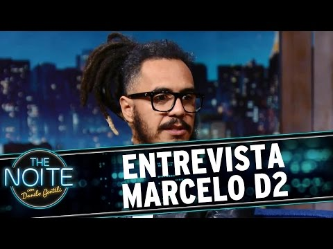 The Noite (08/03/16) - Entrevista Com Marcelo D2