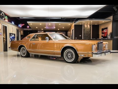 1977 Lincoln Coupe For Sale