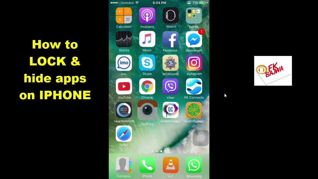 how to hide apps on iphone how to lock amp hide apps on iphone 2017 18874