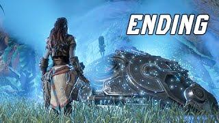 Horizon Zero Dawn Walkthrough Part 40 - ENDING + Final Boss (PS4 Pro Let's Play Commentary)