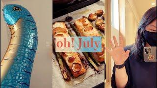 [일상이랑] 7월의 조각-새로운 애플워치와 홈파티, 맛…