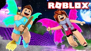 WE BECAME HALLOWEEN FAIRIES Roblox with Mel