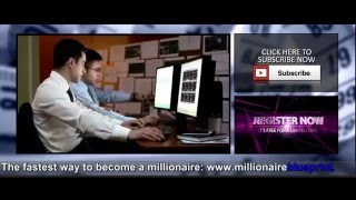 Millionaire Blueprint Review  - Binary Options Signals Trading