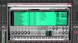 Samplitude Pro X : SampleTank 2.54 : 16 stereo outs