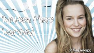 Bridgit Mendler - Hang In There, Baby (with lyrics)