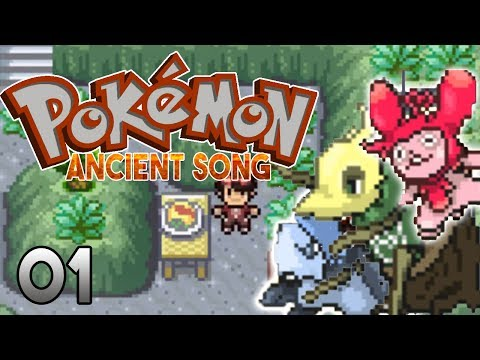 POKEMON ANCIENT SONG - POKEMON FAN GAME THESE FAKEMON ARE AWESOME! PART 1