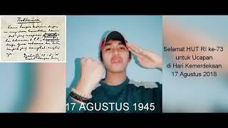 Download Video #INDONESIAKUMERDEKA    Selamat HUT RI ke-73 untuk Ucapan di Hari Kemerdekaan 17 Agustus 2018 MP3 3GP MP4