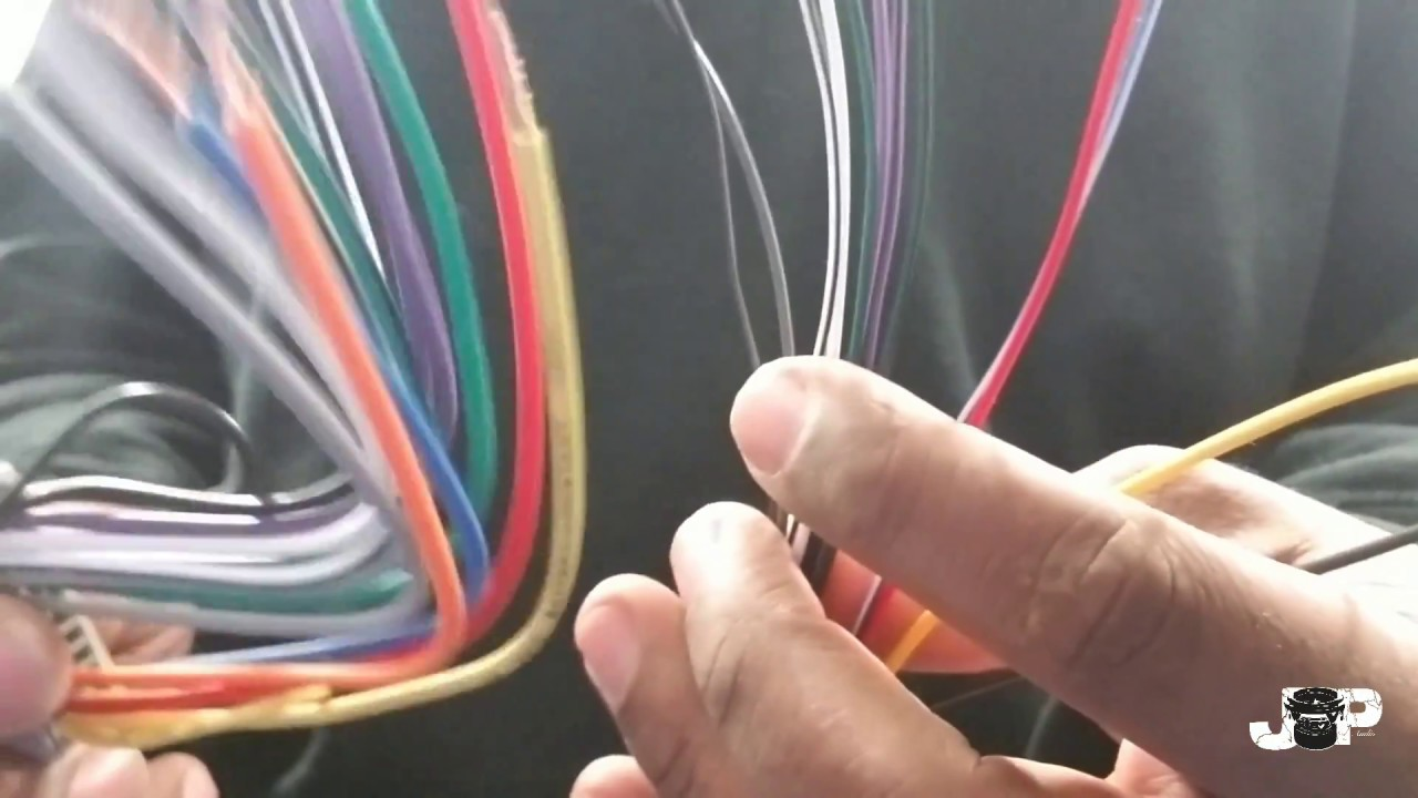 car stereo wiring harness explained | how to install