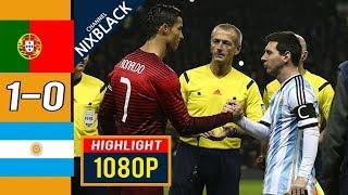 Португалия Аргентина 1 0 Обзор Товарищеского Матча 18 11 2014 HD