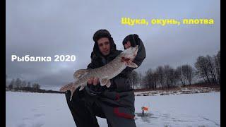 РЫБАЛКА НА ЖЕРЛИЦЫ 2020. Ловля ЩУКИ. РЫБАЛКА со льда.