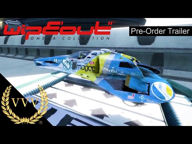 WipEout Omega Collection  Pre Order Trailer