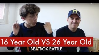 16 Year Old VS 26 Year Old | Beatbox Battle