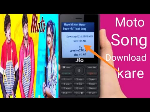 How To Download Moto Song Mp3 On Jio Phone Youtube
