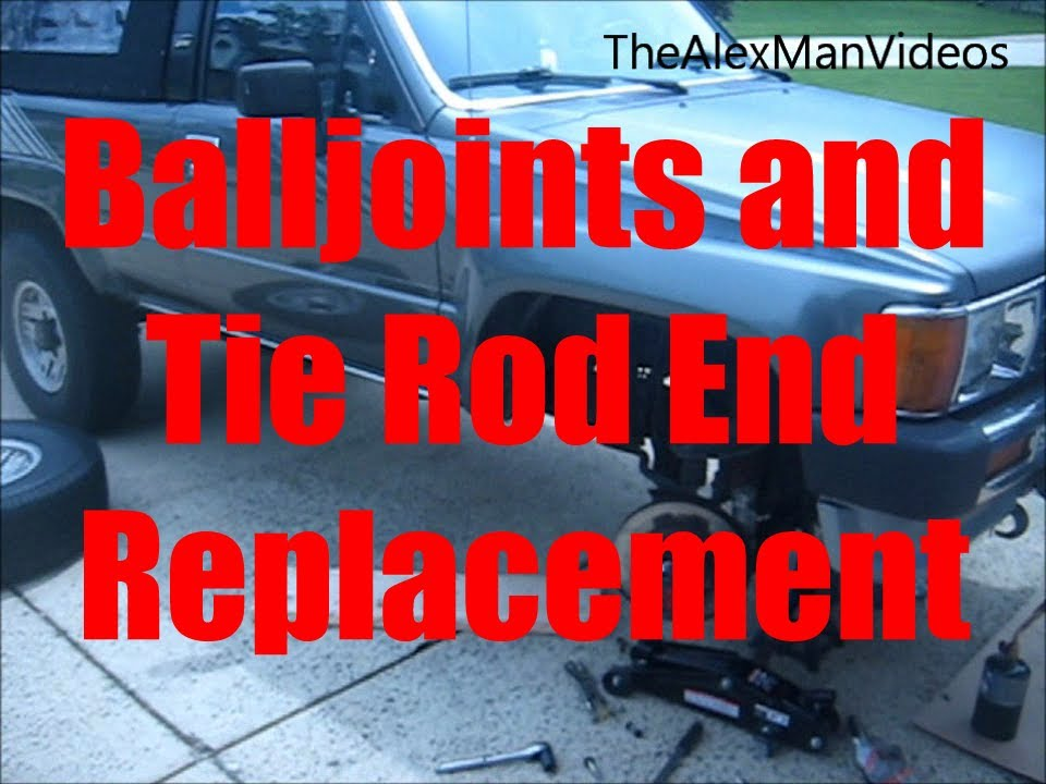 How To Replace Balljoints And Tie Rod Ends Ifs Toyota