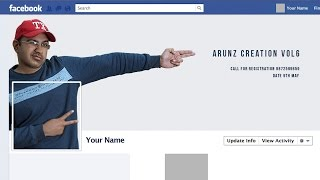 Photoshop | Making Facebook Cover and Banner with Same Photo