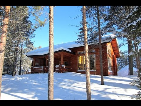 #L0307. Finland cottages & cabins: Ski holiday cabin in Levi, Lapland, Finland.
