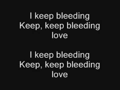 The Baseballs - Bleeding love (Lyrics)