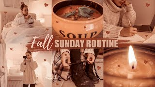 MY FALL SUNDAY ROUTINE 2019: Relaxed, Productive & Super Cosy | Gemma Louise Miles
