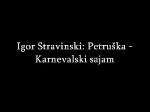 Glazbeni susreti 4 - Igor Stravinski: Petruška - Karnevalski sajam