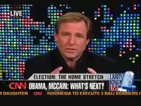 Christopher Hitchens   2008   On Larry King Live panel discussing Joe Biden