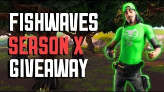BATTLE PASS GIVEAWAY SEASON X FREE FORTNITE LIVE !!! (NAE) ZONE WARS !!!