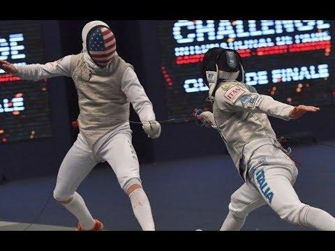2018, Daniele Garozzo ITA vs Race Imboden USA