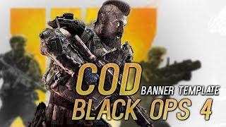 COD BLACK OPS 4 BANNER SPEED ART || [LINK IN DESC] by JarryS