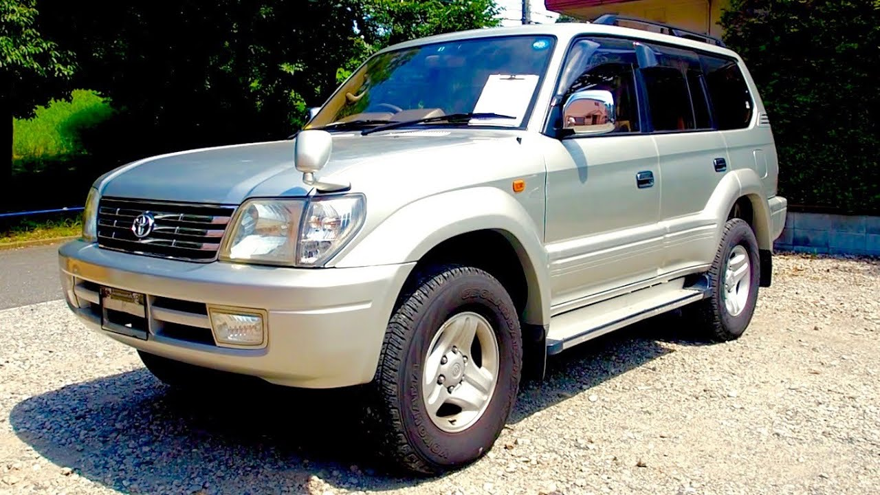 2001 Land Cruiser Prado Diesel Kdj95 Canada Import Japan Auction Toyota Purchase Review Youtube