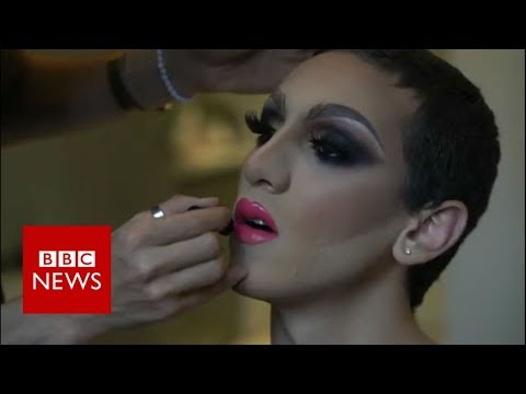 Lebanese Trailblazer: Proud in drag - BBC News