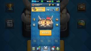 Una partida en clash royale  #^_^#