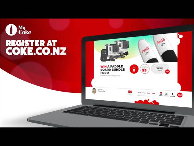 COKE NZ Launches MYCOKE