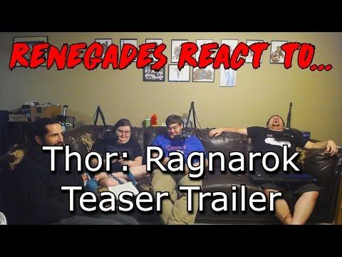 Renegades React to... Thor: Ragnarok Teaser Trailer