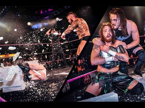 Stevie Boy cashes in and wins the ICW World Heavyweight Title!