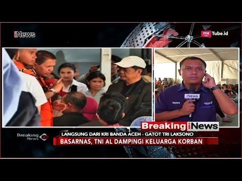 Suasana Jelang Tabur Bunga Keluarga Korban Lion Air di KRI Banda Aceh - Breaking iNews 06/11
