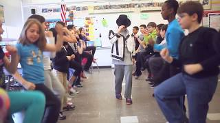 Yoga 4 Classrooms & Michael Jackson Groove Together