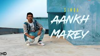 Aankh Marey | Simba | Freestyle Dance Choreography | BeatFeeL RJ