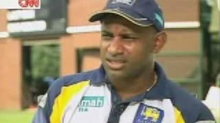 sanath jayasuriya- talk about  Sri Lankan Cricket to CNN talk Asia (Pt3)