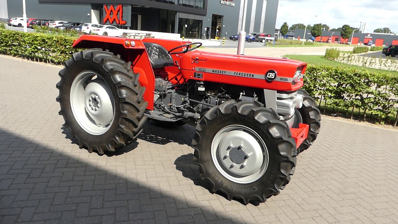 Massey-Ferguson 135 4wd for sale at VDI auctions - YouTube
