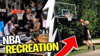 Recreating NBA *Missed* Game Winners!