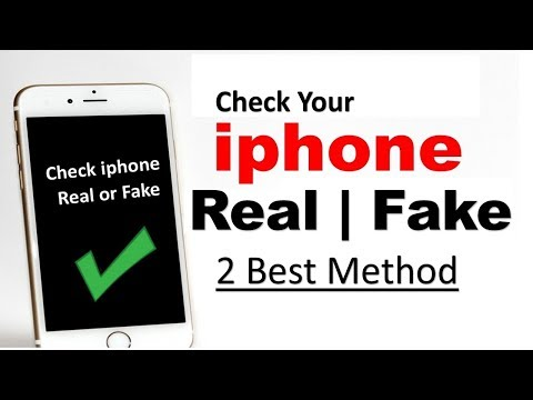 How To Check Your  iphone is Fake or Real  ? kaise pata kare iphone real hai ya fake