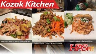 Kozak Kitchen Ep. 1: Family Meals Made Easy, Healthy Recipes, & Dinner Ideas
