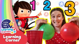 Learning Numbers Lesson - Counting | Learning Corner | Learning Videos For Kids | Homeschool Cartoon