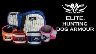 New Ultra Tough Hunting Dog Armour - The Elite Range.